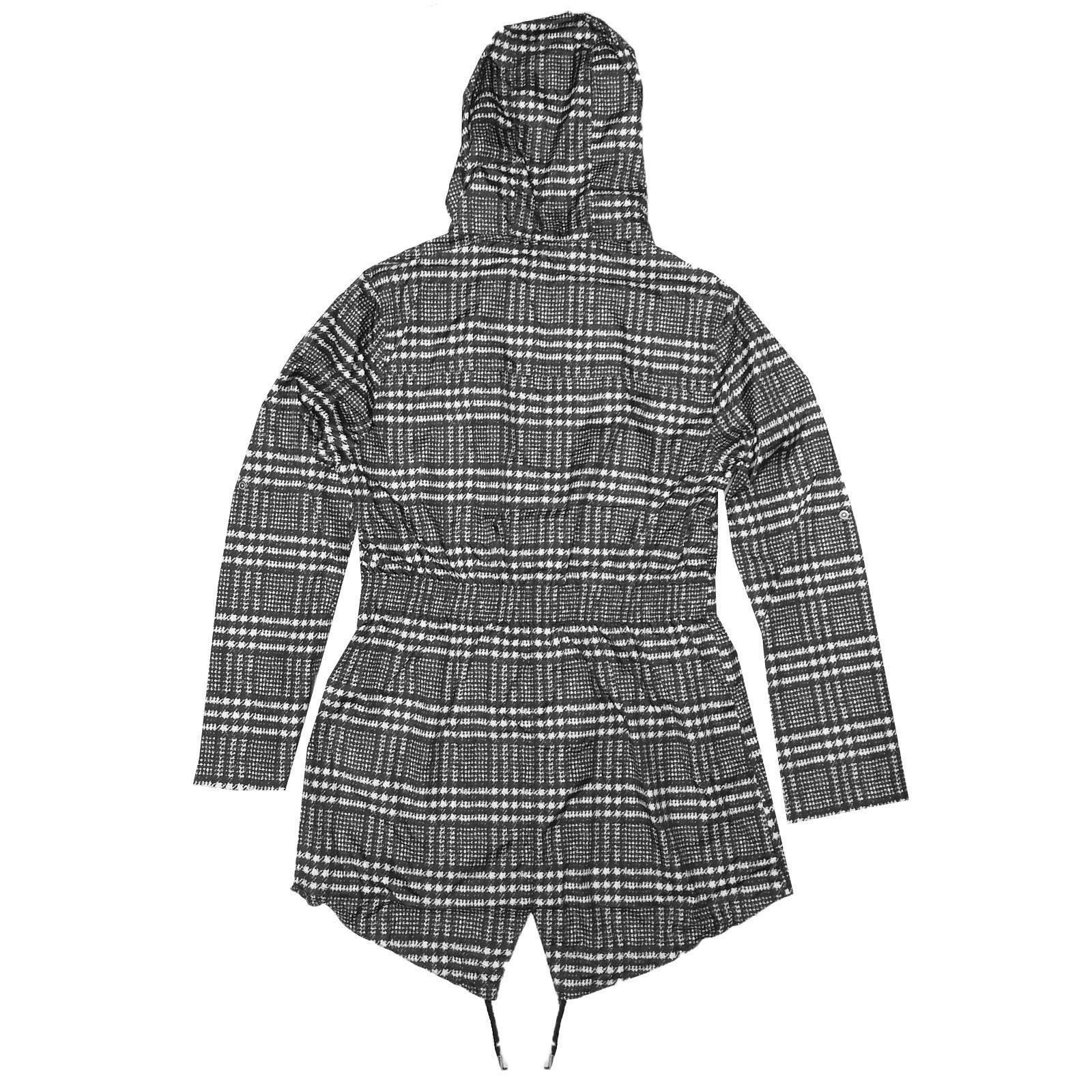 Brave-Soul-Womens-Hooded-Festival-Mac-Ladies-Showerproof-Winter-Zip-Up-Raincoat thumbnail 59