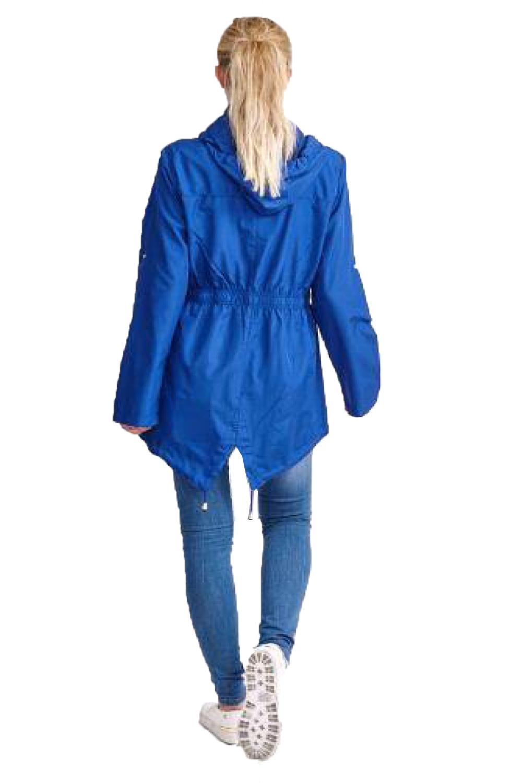 Brave-Soul-Womens-Hooded-Festival-Mac-Ladies-Showerproof-Winter-Zip-Up-Raincoat thumbnail 17