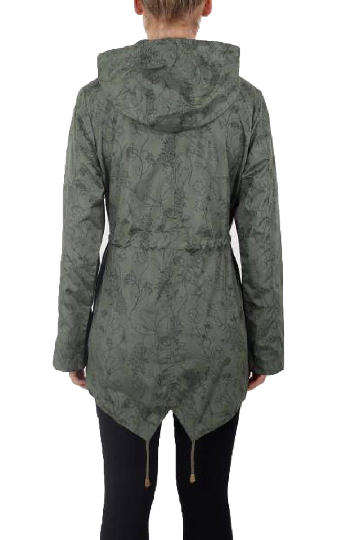Brave-Soul-Womens-Hooded-Festival-Mac-Ladies-Showerproof-Winter-Zip-Up-Raincoat thumbnail 28