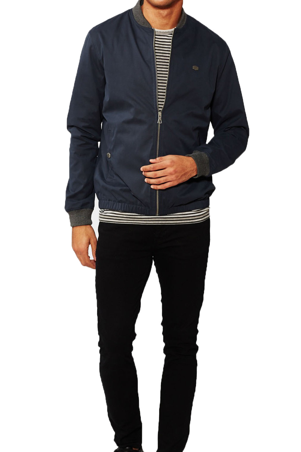 Threadbare Maple Mens Baseball Varstiy Collar Bomber Jacket MA1 ...