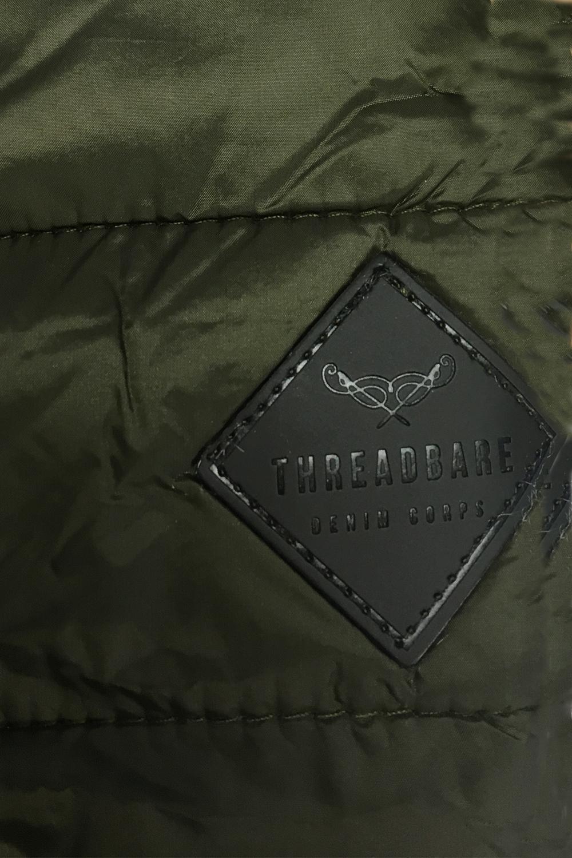 Threadbare-Mens-Naples-MA1-Bomber-Jacket-Designer-Quilted-Winter-Padded-Coat thumbnail 5