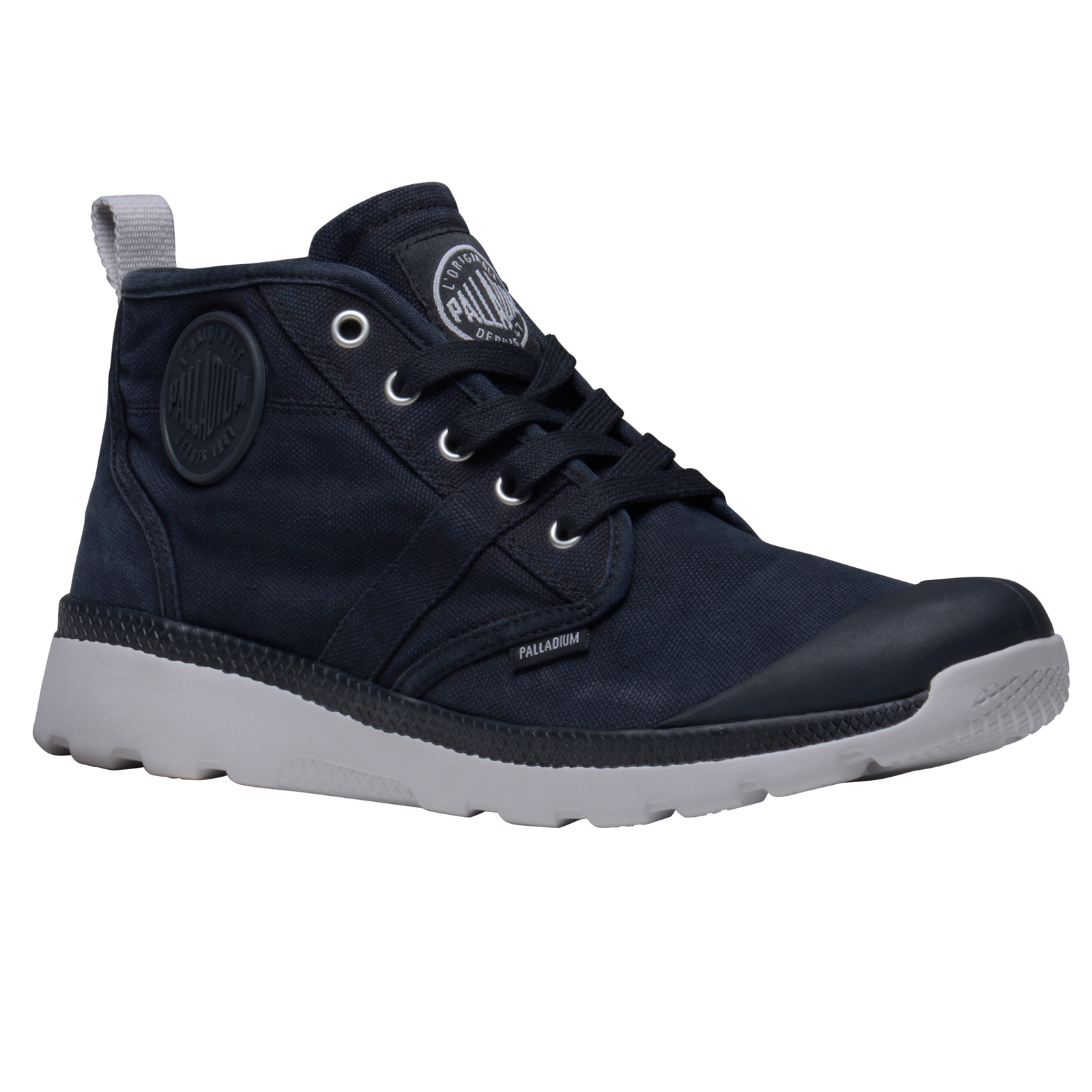 palladium mens pallaville hi cvs shoes new designer lace up canvas hi top boots