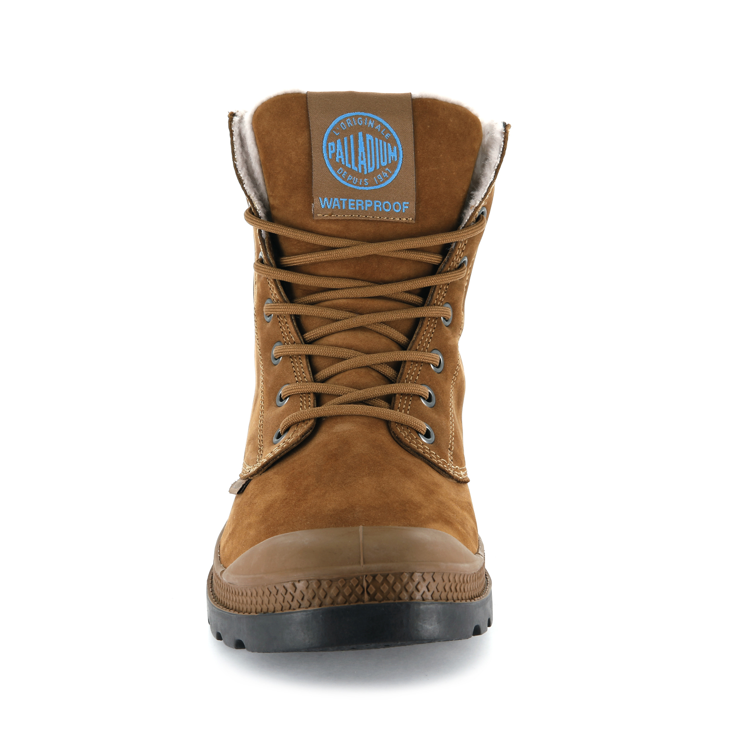 Palladium-Mens-Pampa-Sport-Cuff-Waterproof-Suede-Leather-Shoe-Wool-Lined-Boots thumbnail 24
