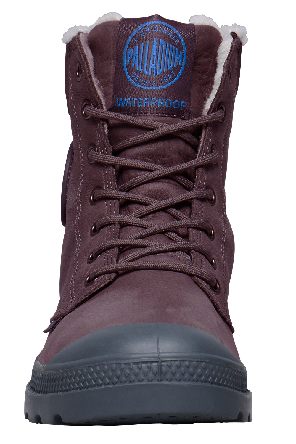 Palladium-Mens-Pampa-Sport-Cuff-Waterproof-Suede-Leather-Shoe-Wool-Lined-Boots thumbnail 19
