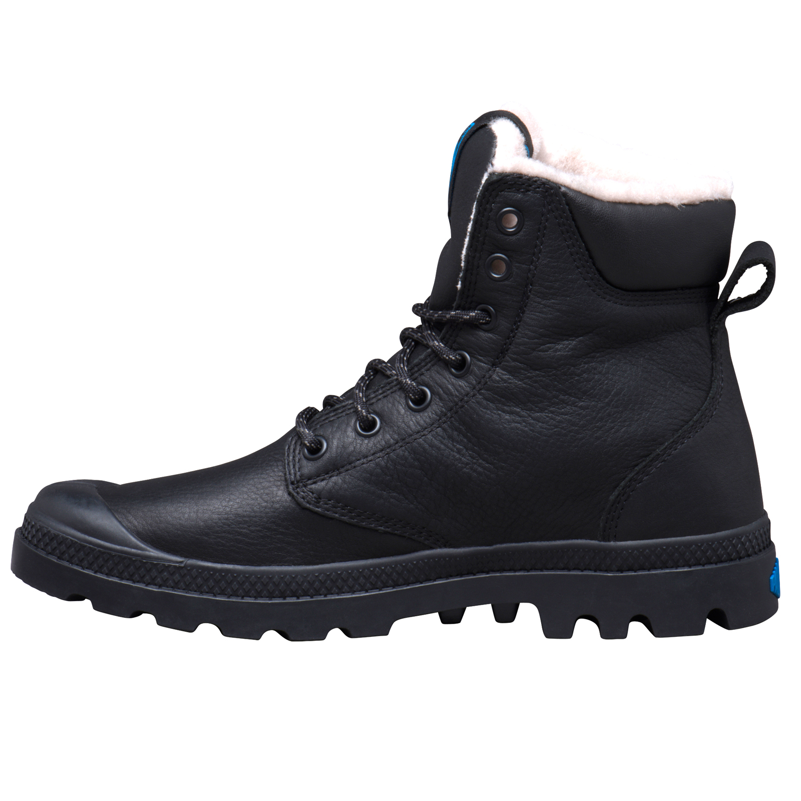 Palladium-Mens-Pampa-Sport-Cuff-Waterproof-Suede-Leather-Shoe-Wool-Lined-Boots thumbnail 10