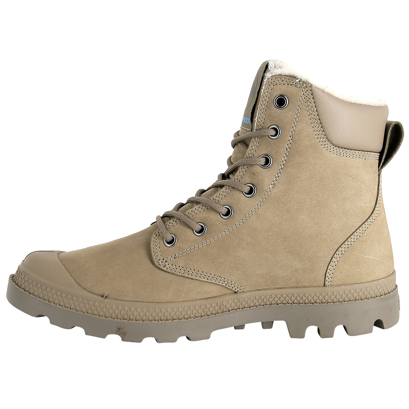 Palladium-Mens-Pampa-Sport-Cuff-Waterproof-Suede-Leather-Shoe-Wool-Lined-Boots thumbnail 29