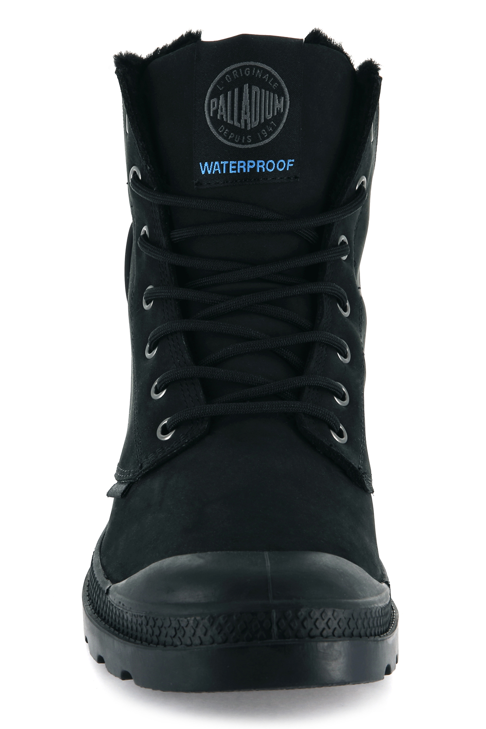 Palladium-Mens-Pampa-Sport-Cuff-Waterproof-Suede-Leather-Shoe-Wool-Lined-Boots thumbnail 5