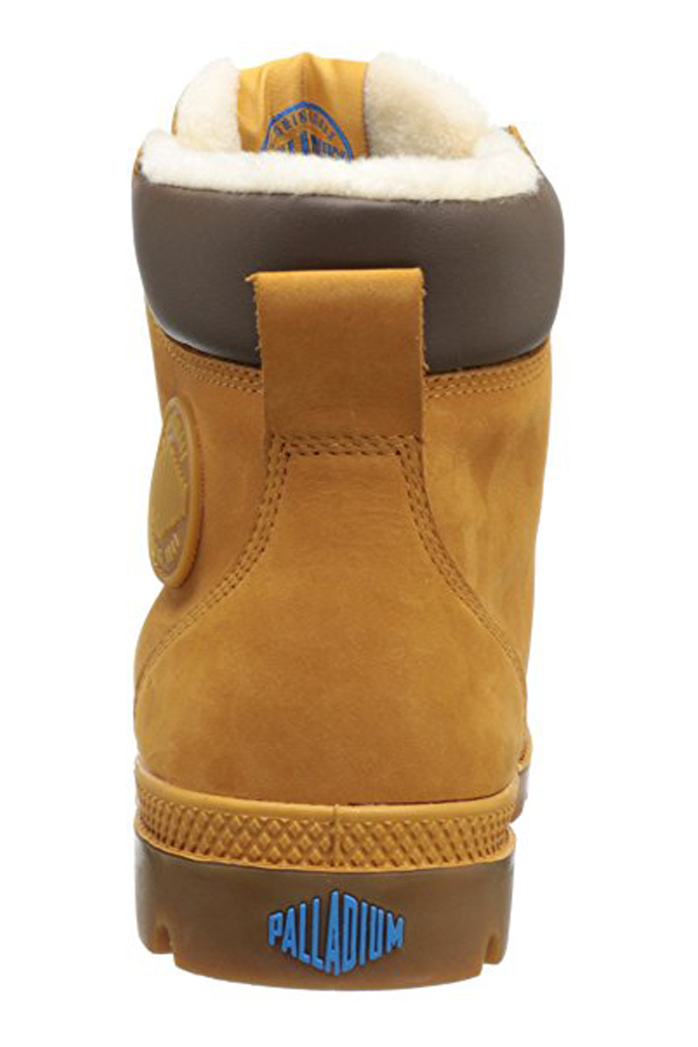 thumbnail 15 - Palladium Mens Pampa Sport Cuff Waterproof Suede Leather Shoe Wool Lined Boots