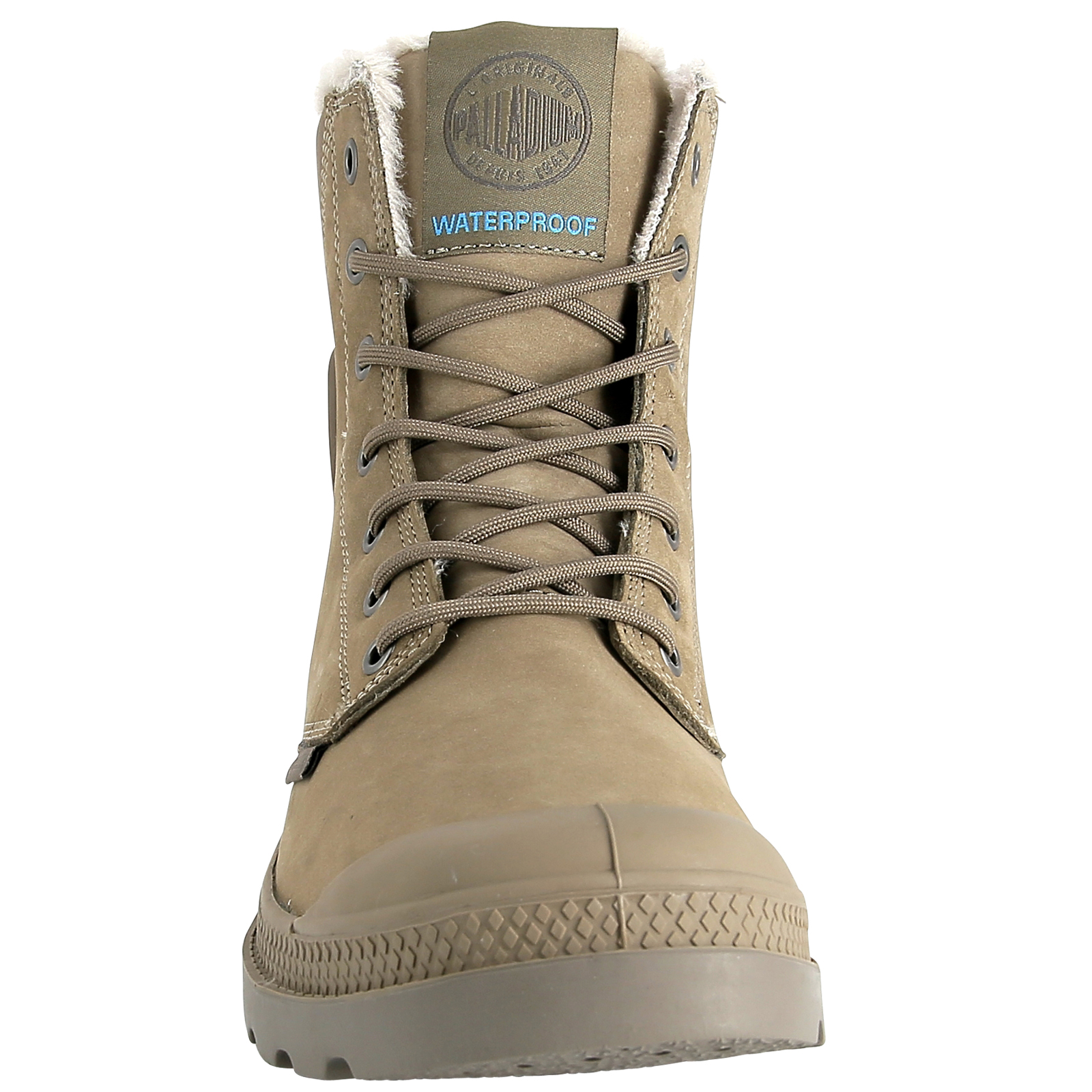 thumbnail 29 - Palladium Mens Pampa Sport Cuff Waterproof Suede Leather Shoe Wool Lined Boots
