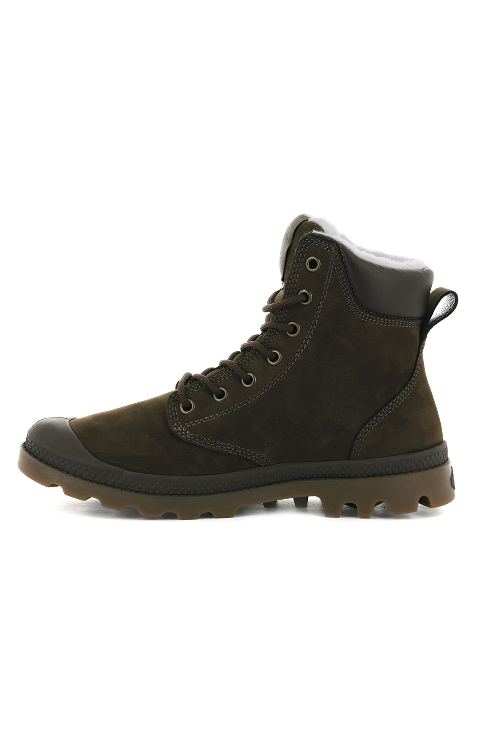 thumbnail 34 - Palladium Mens Pampa Sport Cuff Waterproof Suede Leather Shoe Wool Lined Boots