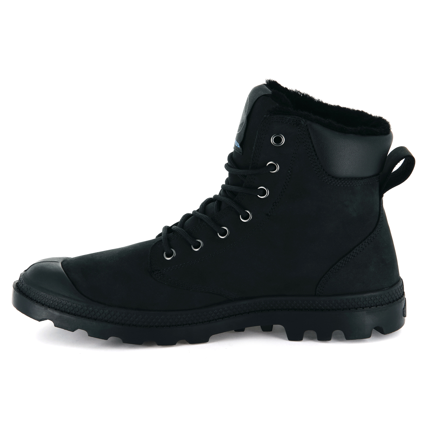 Palladium-Mens-Pampa-Sport-Cuff-Waterproof-Suede-Leather-Shoe-Wool-Lined-Boots thumbnail 3