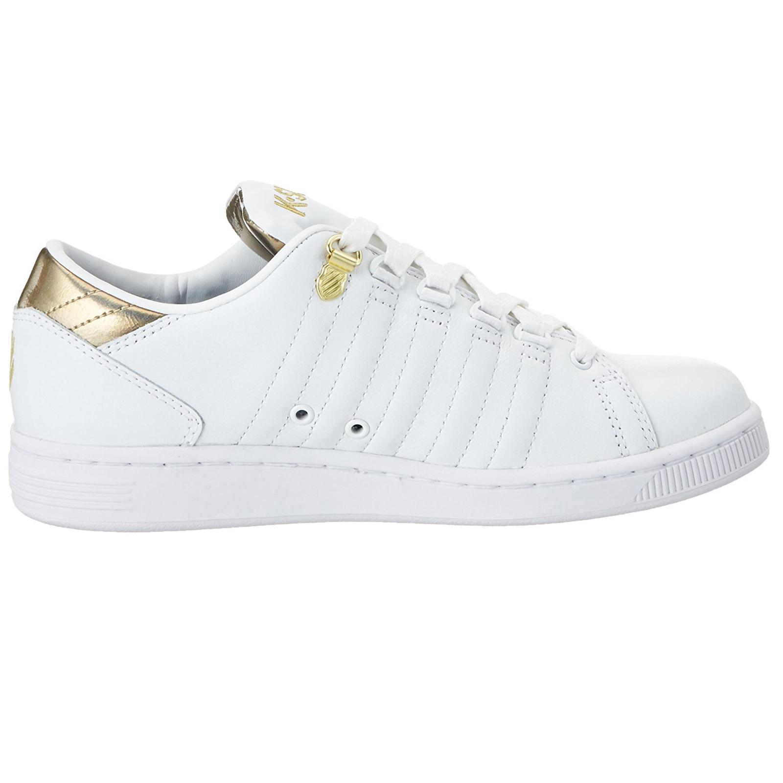 Descuento por tiempo limitado K-Swiss Womens Lozan III TT MTLLC Iconic Designer Trainers Lace Up Leather Shoes