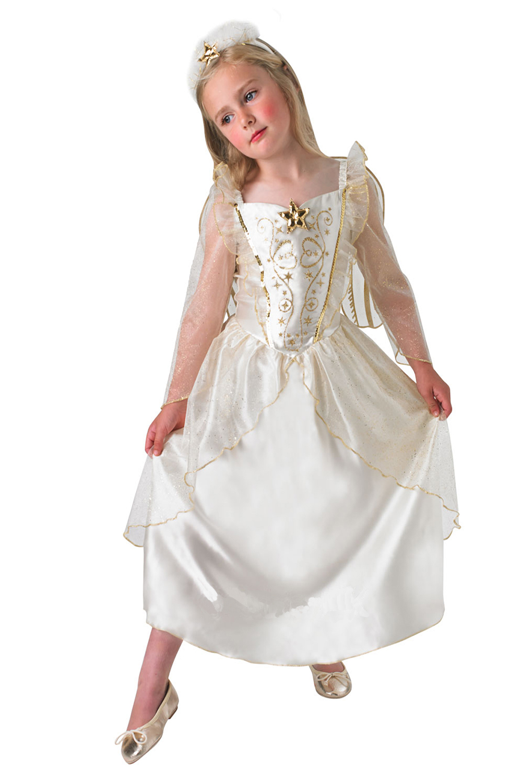 Rubies Childrens Angel Christmas School Nativity Play Fancy Dress ...