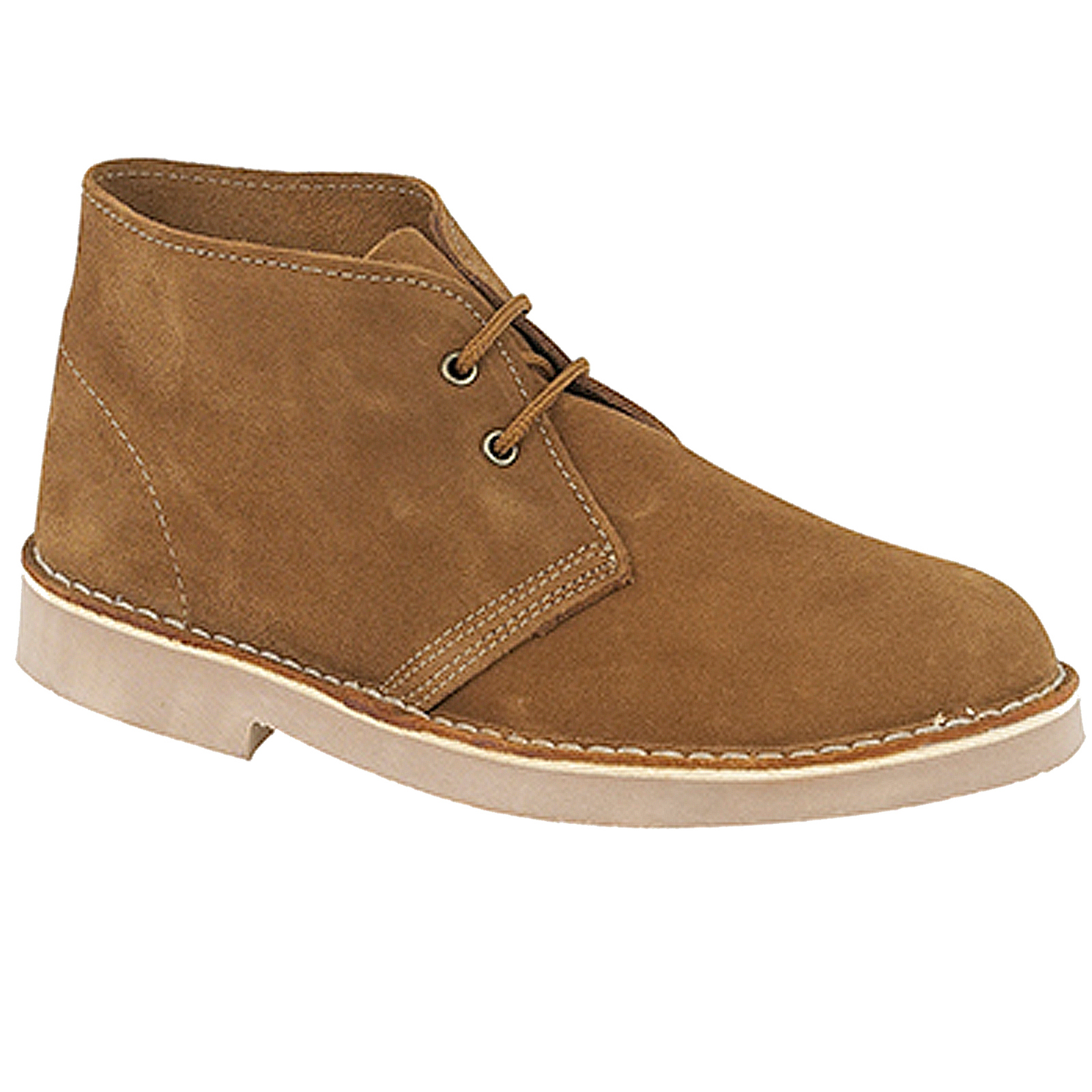 roamers desert boots mens womens casual lace up real suede leather ankle shoes ebay. Black Bedroom Furniture Sets. Home Design Ideas