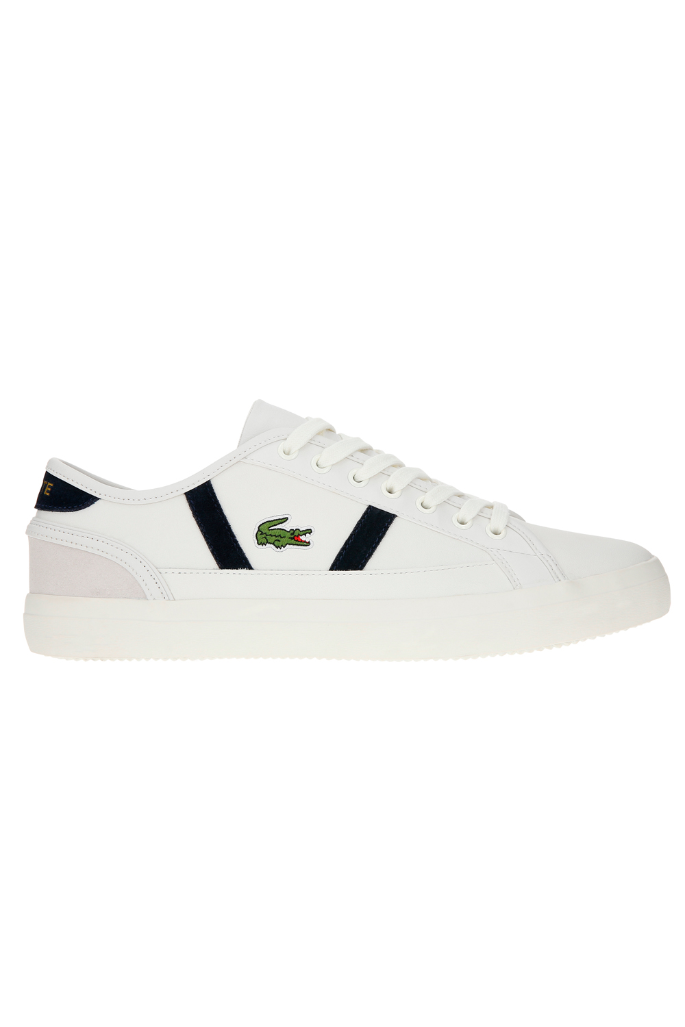 Lacoste-Mens-Sideline-119-Lace-Ups-Leather-Canvas-White-Trainers-Casual-Shoes thumbnail 8
