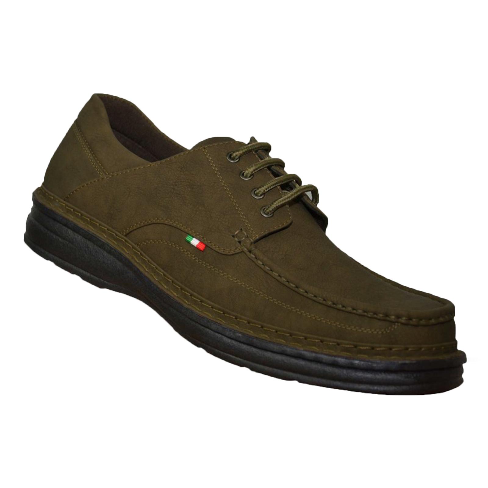 Duke-D555-Keanu-para-hombre-Big-King-Size-Zapatos-Con-Cordones-Calzado-de-Disenador-de-Cuero-PU miniatura 3