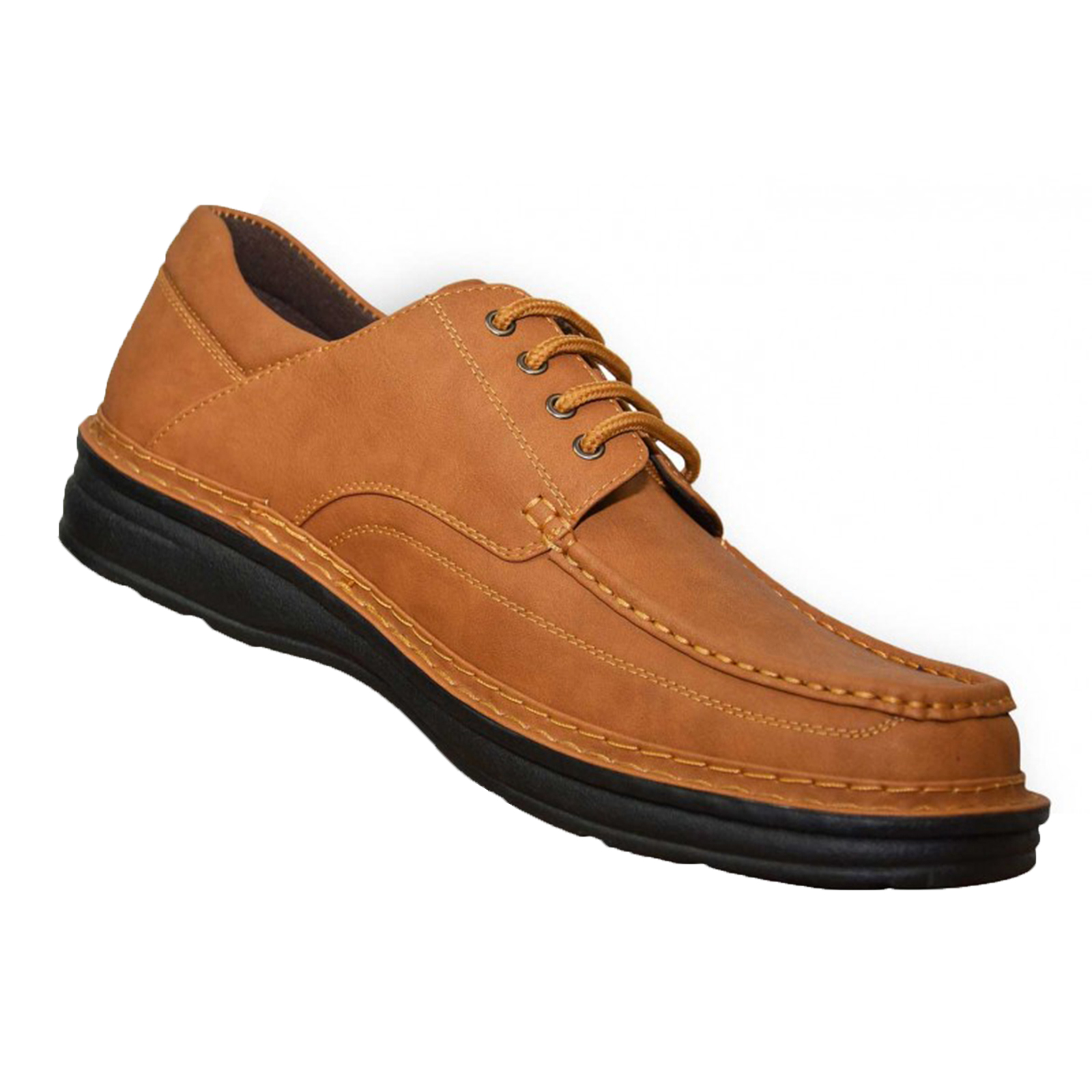 Duke-D555-Keanu-para-hombre-Big-King-Size-Zapatos-Con-Cordones-Calzado-de-Disenador-de-Cuero-PU miniatura 6