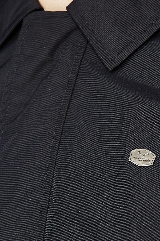 Threadbare Ashcolme Mens Spread Collar Mac Jacket Lightweight Zip Up Trench Coat