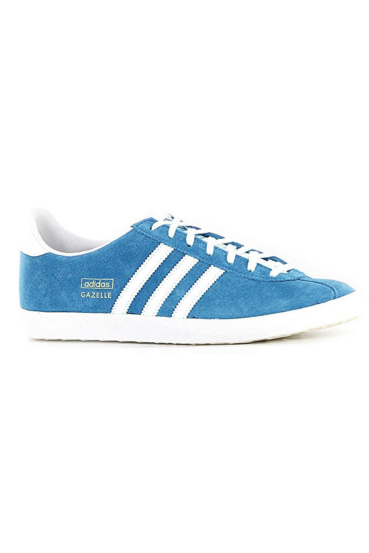 Adidas-Originals-Da-Uomo-Gazelle-OG-Scarpe-Da-Ginnastica-in-Pelle-e-pelle-scamosciata-stringati miniatura 5