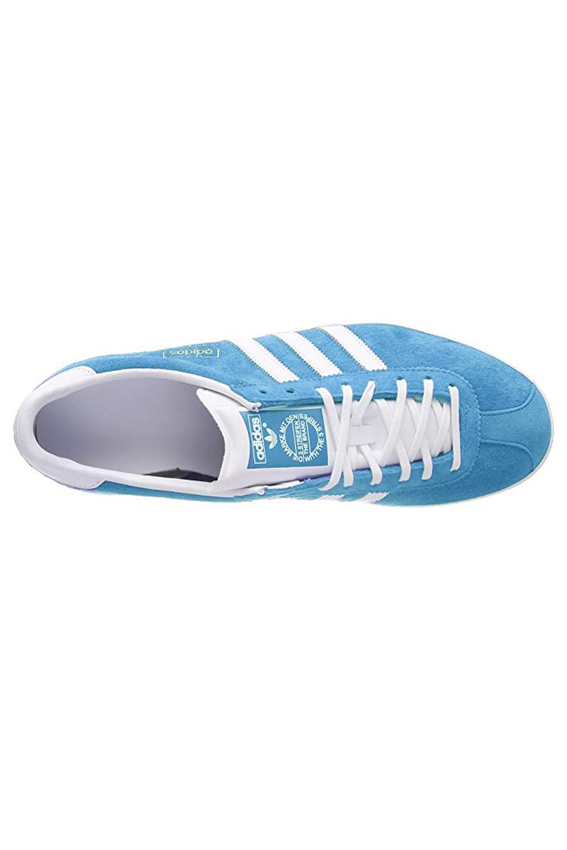 Adidas-Originals-Da-Uomo-Gazelle-OG-Scarpe-Da-Ginnastica-in-Pelle-e-pelle-scamosciata-stringati miniatura 6