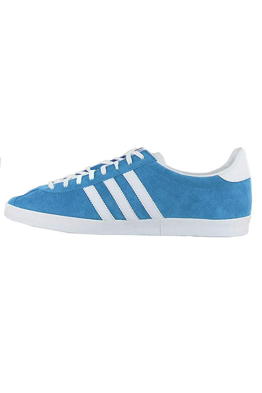 Adidas-Originals-Da-Uomo-Gazelle-OG-Scarpe-Da-Ginnastica-in-Pelle-e-pelle-scamosciata-stringati miniatura 4