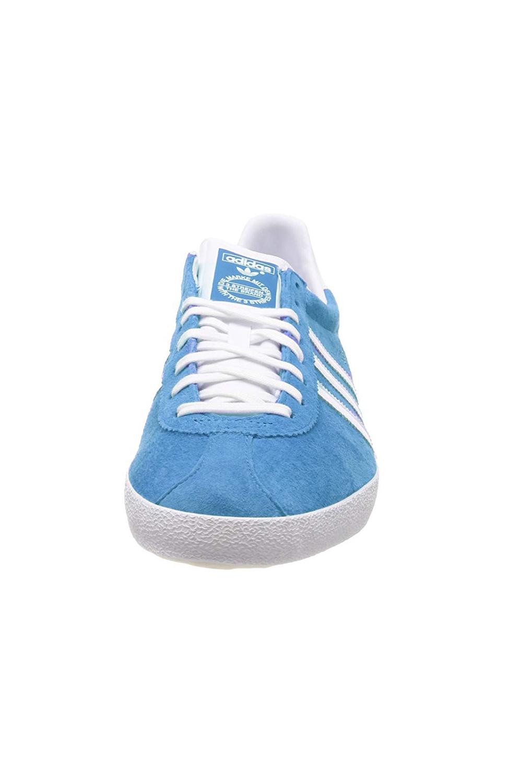 Adidas-Originals-Da-Uomo-Gazelle-OG-Scarpe-Da-Ginnastica-in-Pelle-e-pelle-scamosciata-stringati miniatura 7