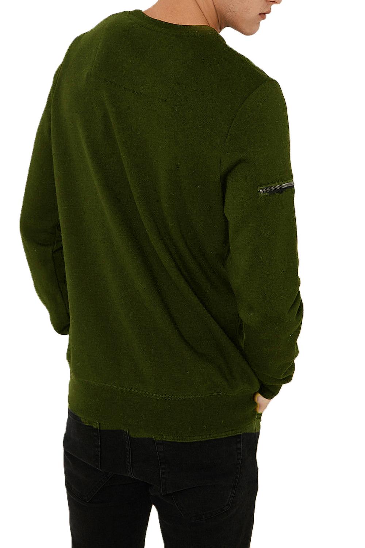 Threadbare-Mens-Chapel-Sweater-Designer-Zip-Detail-Long-Sleeve-Pullover-Jumper thumbnail 10