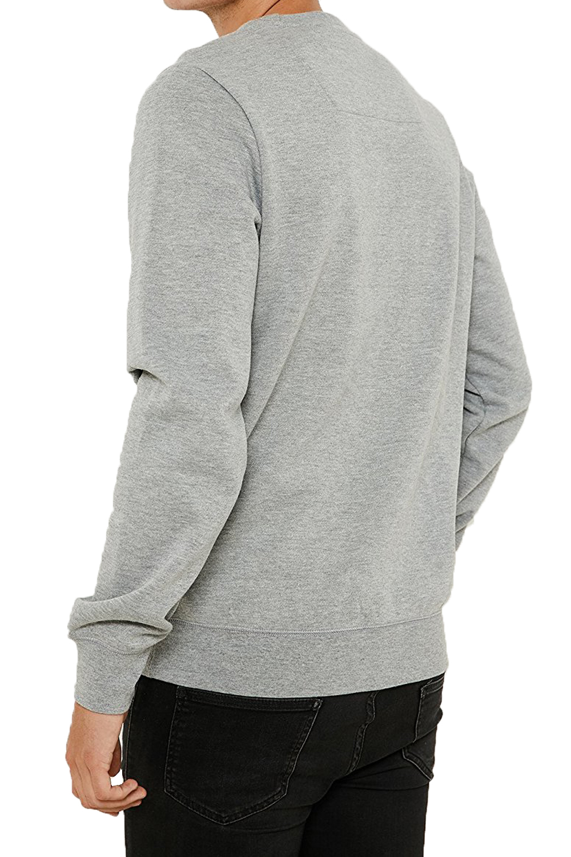Threadbare-Mens-Chapel-Sweater-Designer-Zip-Detail-Long-Sleeve-Pullover-Jumper thumbnail 8