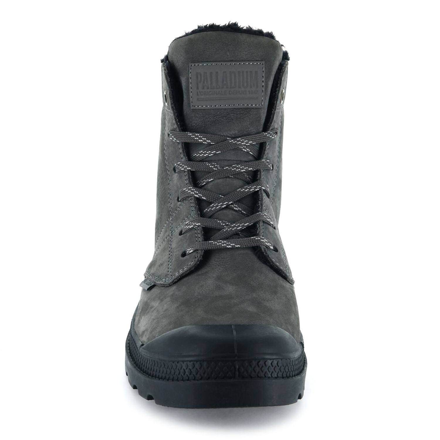 Palladium-Mens-Pallabrousse-Leather-Hi-Top-Boots-Walking-Workwear-Lace-Up-Shoes thumbnail 5
