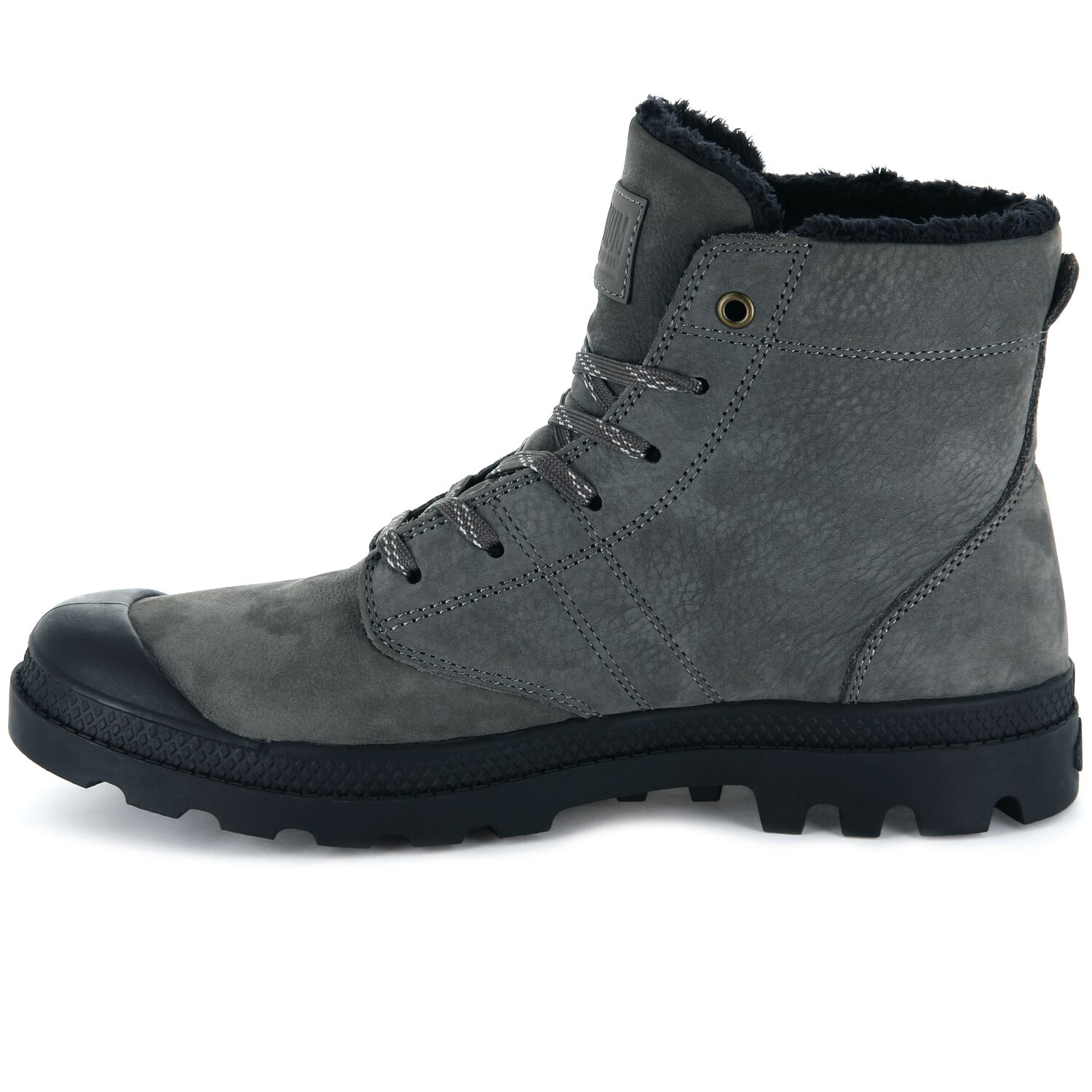 Palladium-Mens-Pallabrousse-Leather-Hi-Top-Boots-Walking-Workwear-Lace-Up-Shoes thumbnail 4