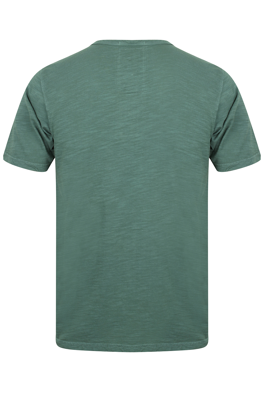 Mens-Tokyo-Laundry-Barry-T-Shirt-Short-Sleeved-Cotton-Jersey-Grandad-Neck-Top thumbnail 9
