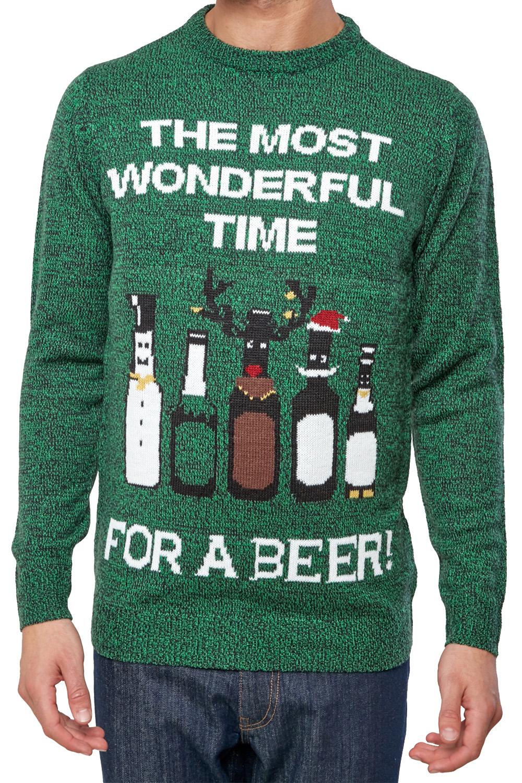 Seasons-Greetings-Adults-Christmas-Jumper-Novelty-Funny-Rude-Xmas-Sweater-Top thumbnail 20