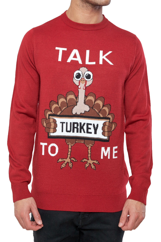 Seasons-Greetings-Adults-Christmas-Jumper-Novelty-Funny-Rude-Xmas-Sweater-Top thumbnail 6