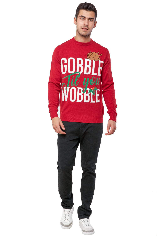 Seasons-Greetings-Adults-Christmas-Jumper-Novelty-Funny-Rude-Xmas-Sweater-Top thumbnail 11