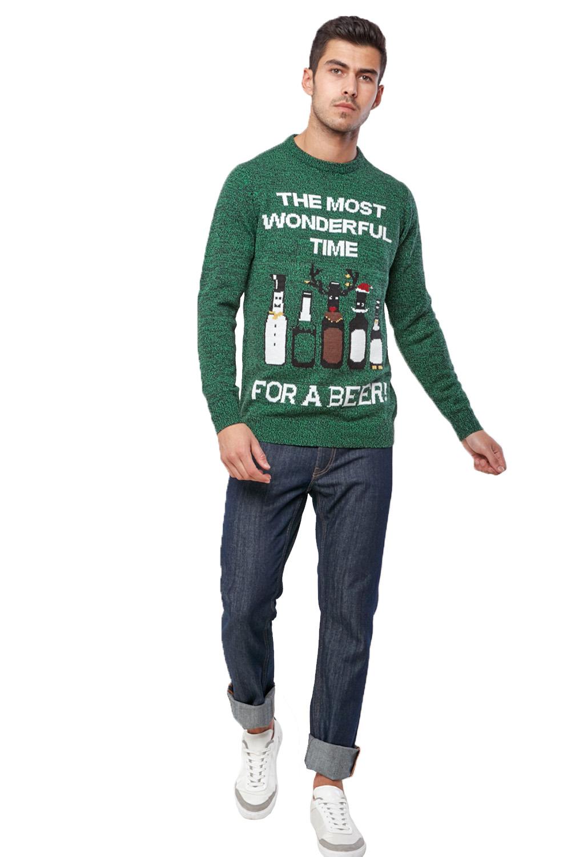 Seasons-Greetings-Adults-Christmas-Jumper-Novelty-Funny-Rude-Xmas-Sweater-Top thumbnail 19