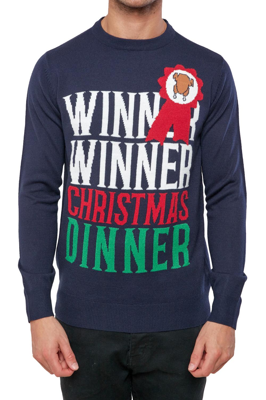 Seasons-Greetings-Adults-Christmas-Jumper-Novelty-Funny-Rude-Xmas-Sweater-Top thumbnail 24
