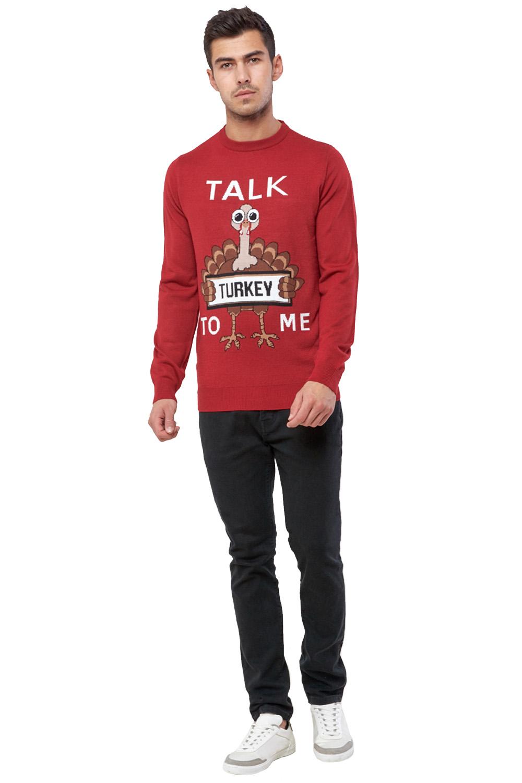 Seasons-Greetings-Adults-Christmas-Jumper-Novelty-Funny-Rude-Xmas-Sweater-Top thumbnail 5
