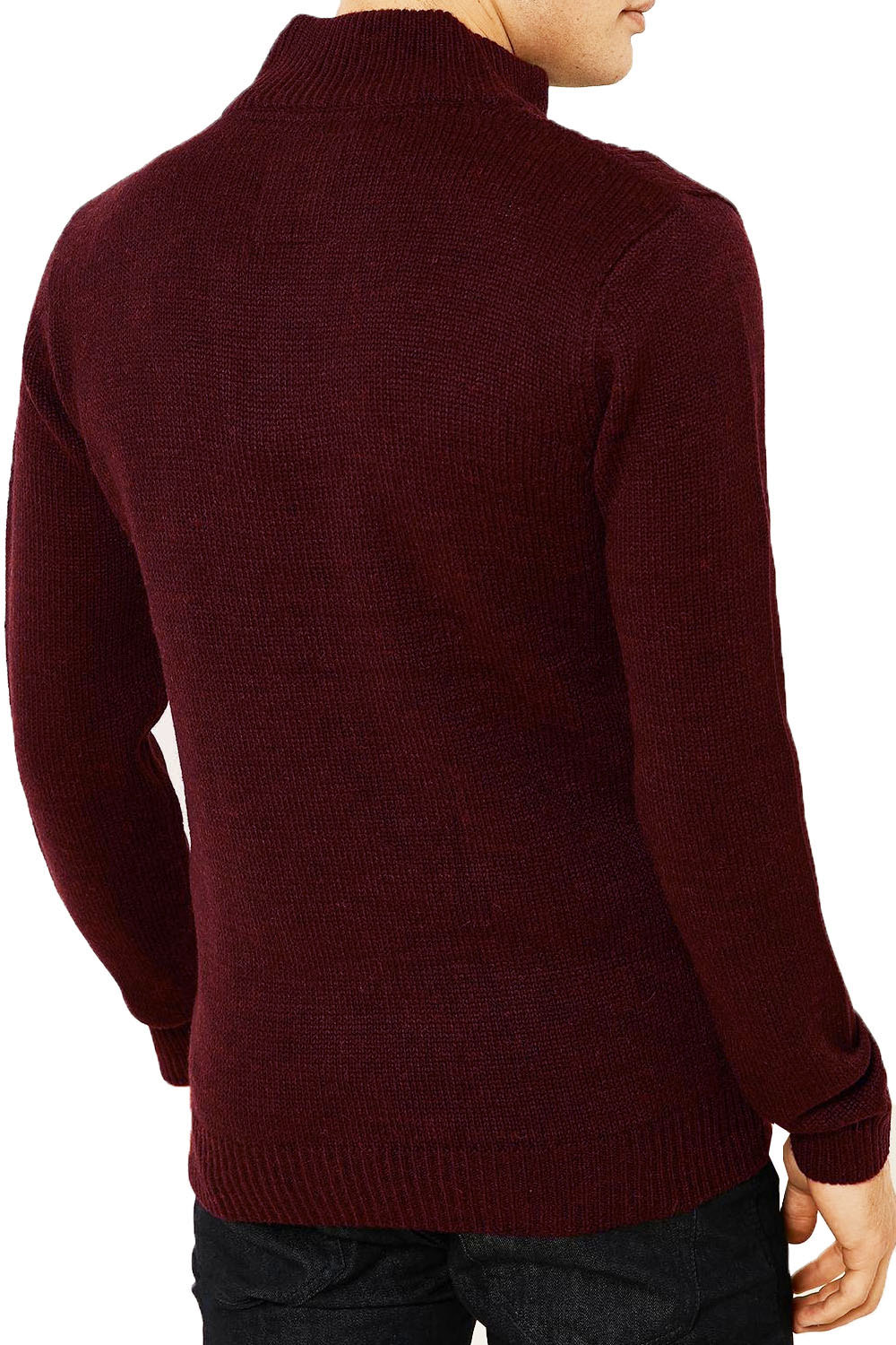 Threadbare-Wray-Mens-Top-Cable-Knited-Designer-Luxurious-Wool-Mix-Raglan-Jumpers thumbnail 8