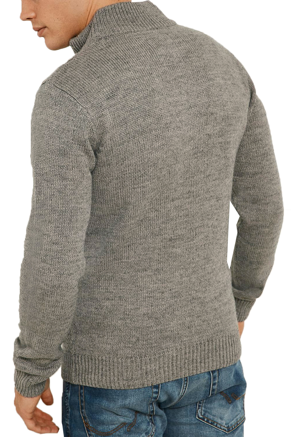 Threadbare-Wray-Mens-Top-Cable-Knited-Designer-Luxurious-Wool-Mix-Raglan-Jumpers thumbnail 23