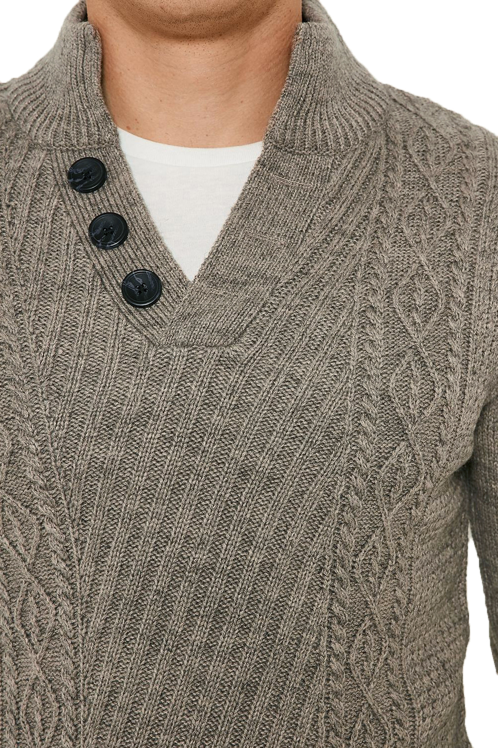 Threadbare-Wray-Mens-Top-Cable-Knited-Designer-Luxurious-Wool-Mix-Raglan-Jumpers thumbnail 21