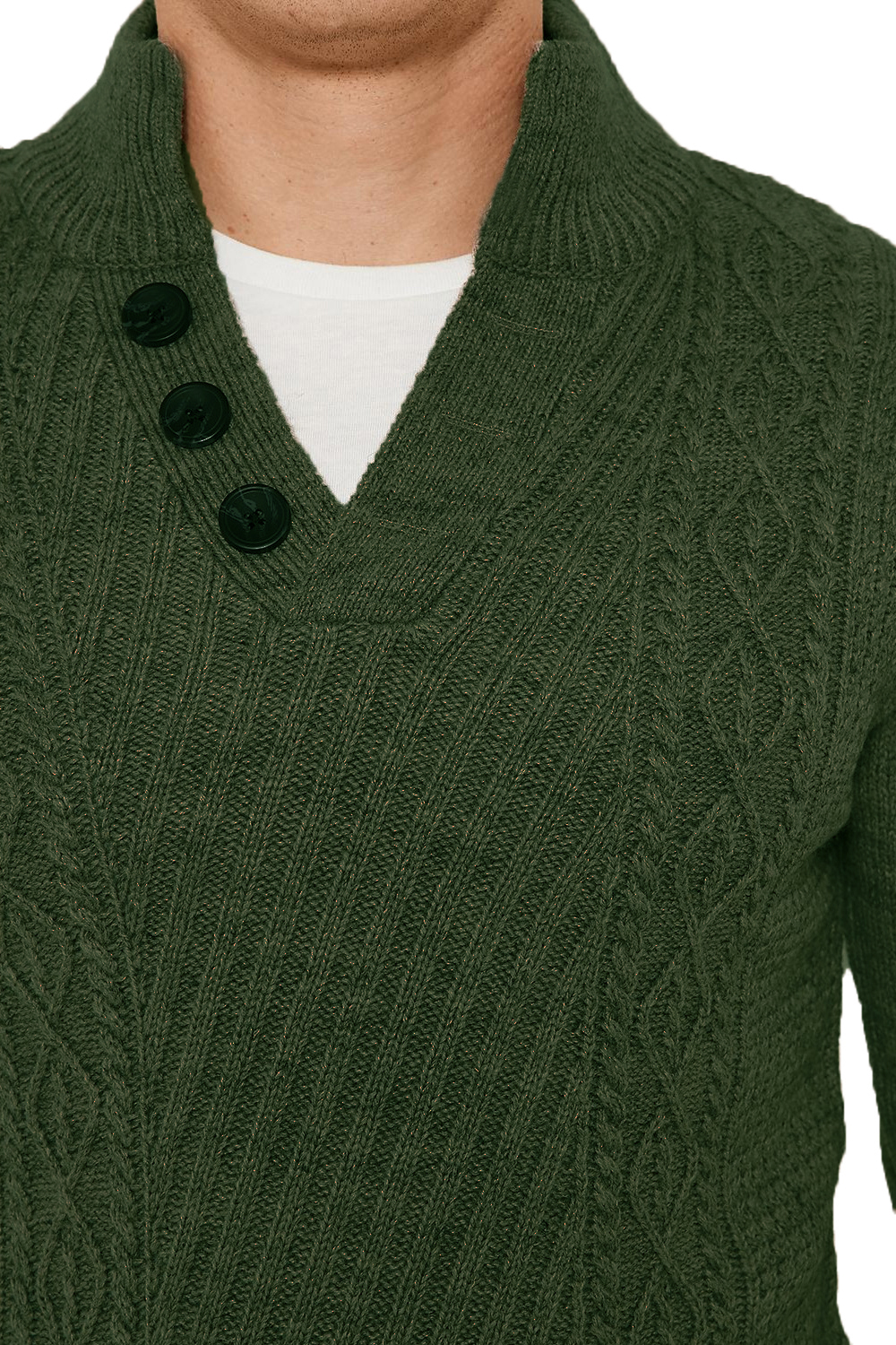 Threadbare-Wray-Mens-Top-Cable-Knited-Designer-Luxurious-Wool-Mix-Raglan-Jumpers thumbnail 18
