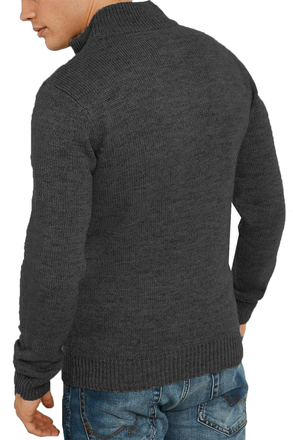 Threadbare-Wray-Mens-Top-Cable-Knited-Designer-Luxurious-Wool-Mix-Raglan-Jumpers thumbnail 4