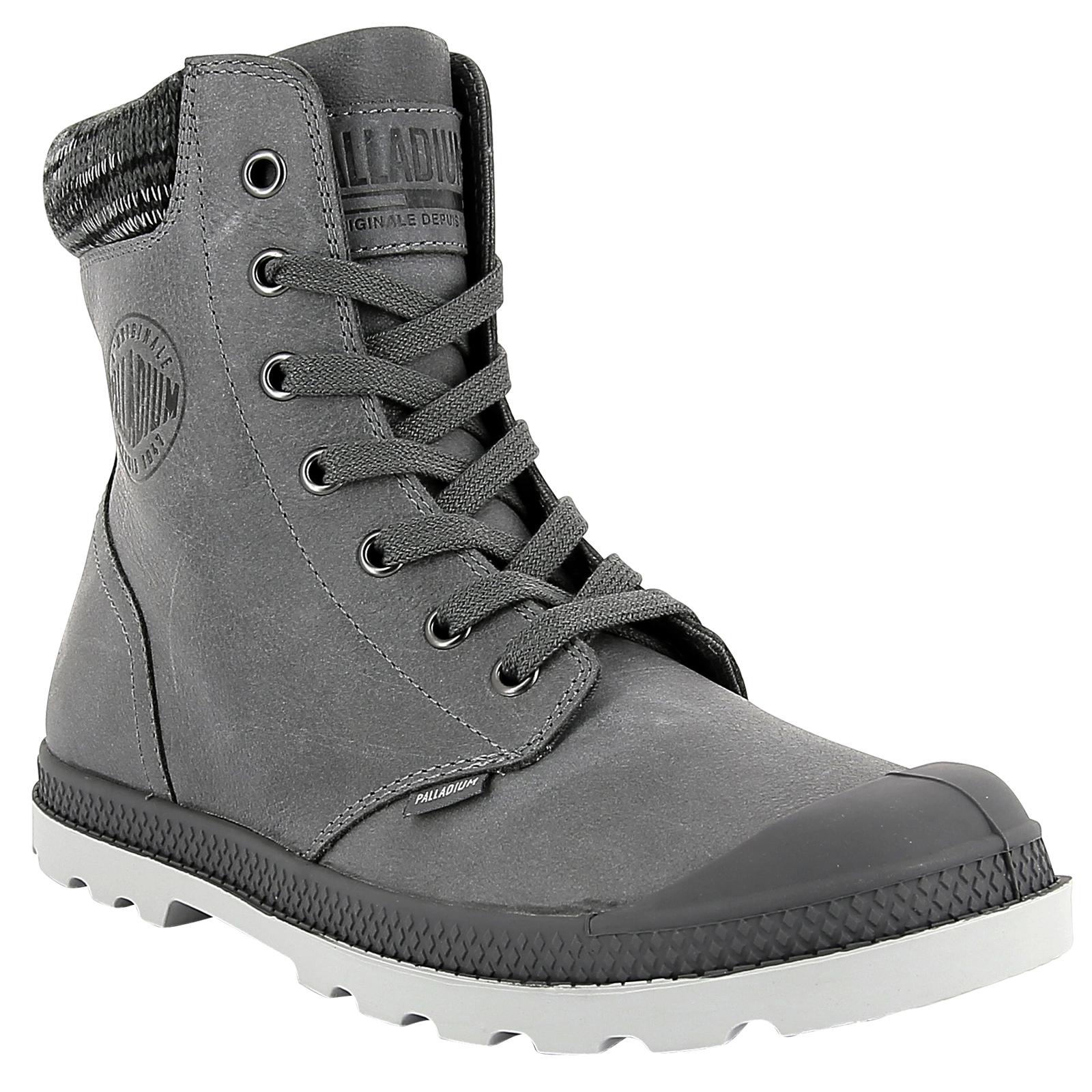 Palladium Womens Womens Womens Pampa Hi Knit Low Profile shoes Leather Casual Design Ankle Boot 265dae
