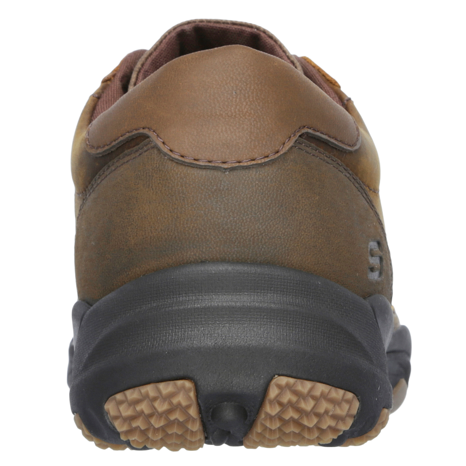 Skechers-Relaxed-Fit-Mens-Larson-Leather-Lace-Up-Memory-Foam-Trainers-Size-7-13 thumbnail 13