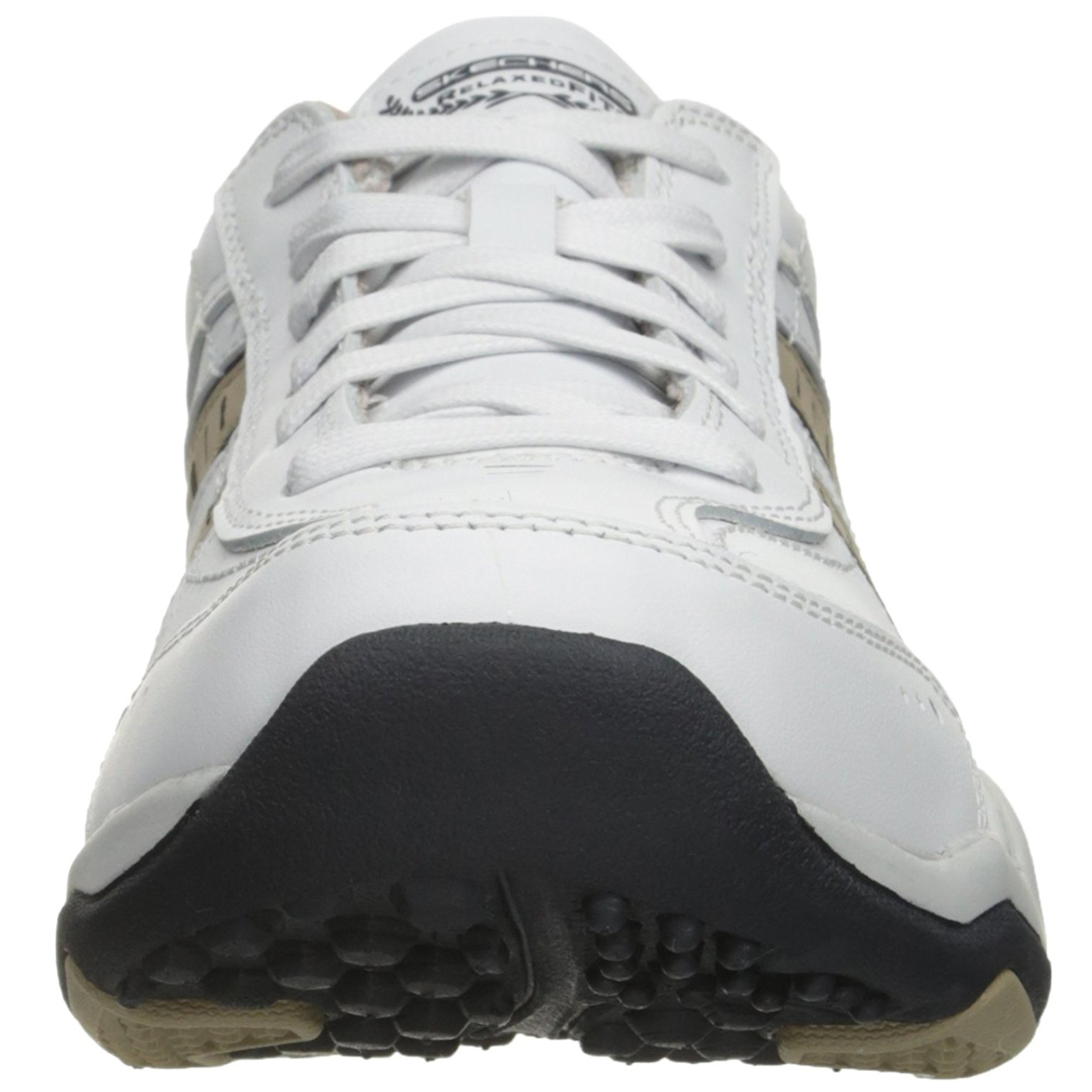 Skechers-Relaxed-Fit-Mens-Larson-Leather-Lace-Up-Memory-Foam-Trainers-Size-7-13 thumbnail 24