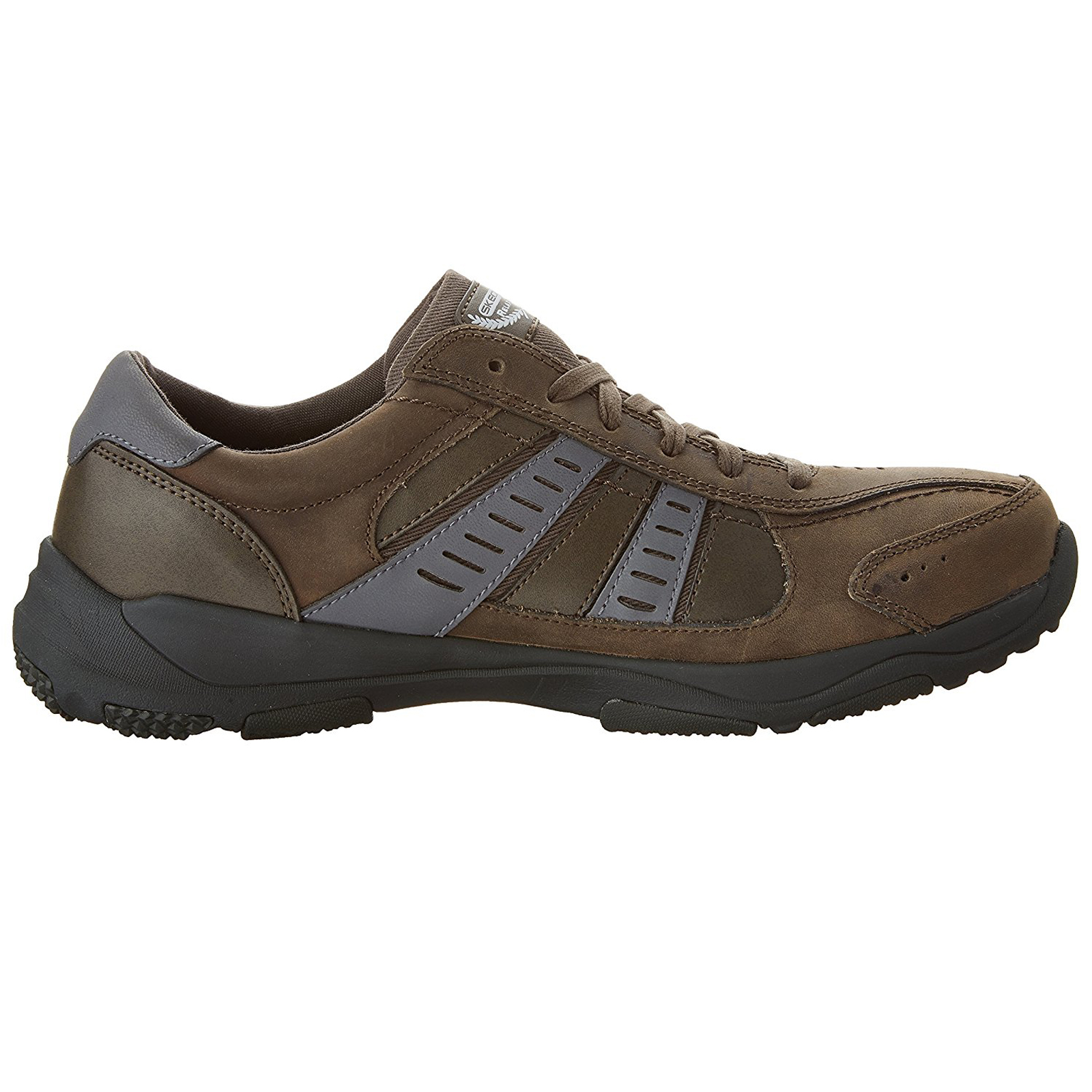 Skechers-Relaxed-Fit-Mens-Larson-Leather-Lace-Up-Memory-Foam-Trainers-Size-7-13 thumbnail 17