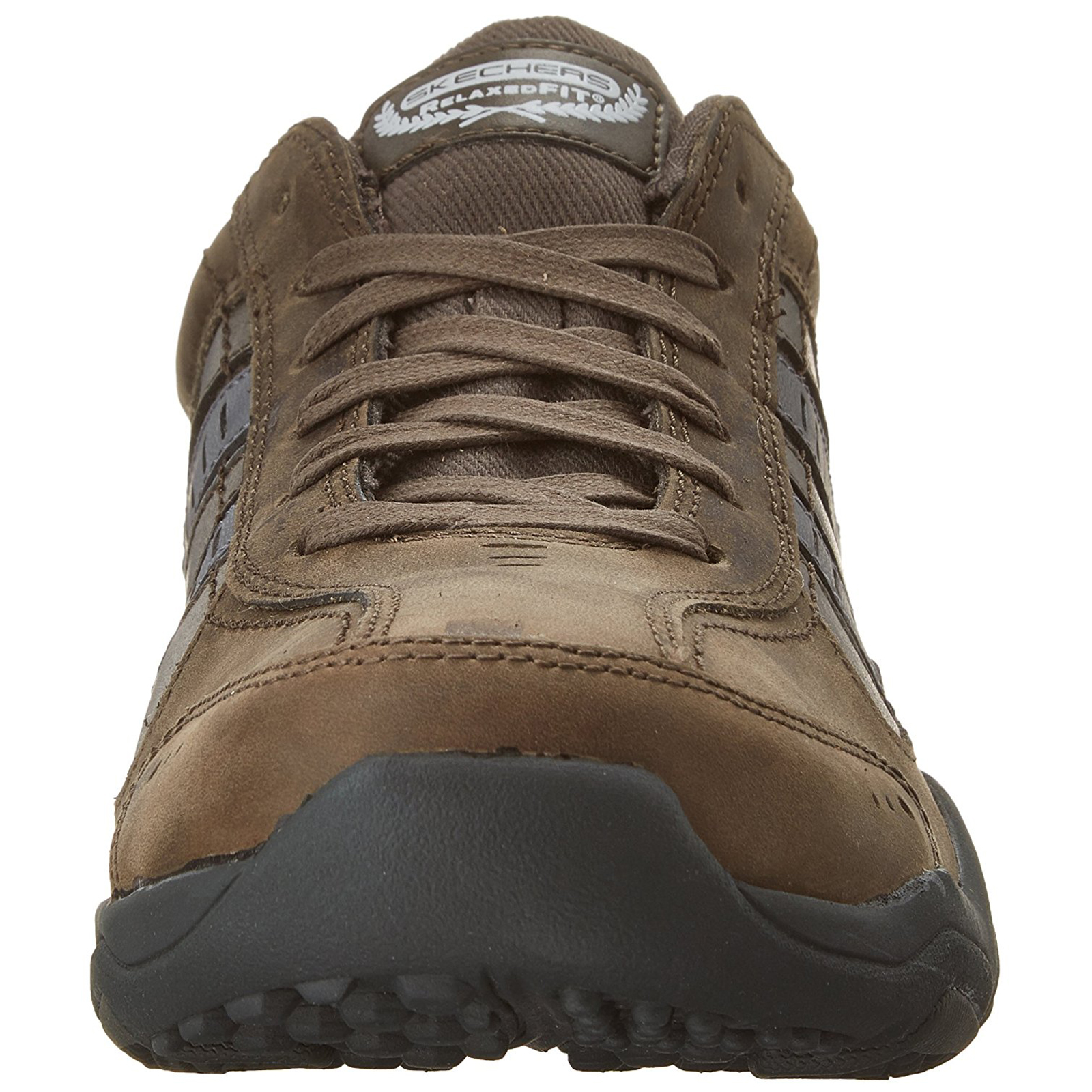 Skechers-Relaxed-Fit-Mens-Larson-Leather-Lace-Up-Memory-Foam-Trainers-Size-7-13 thumbnail 18