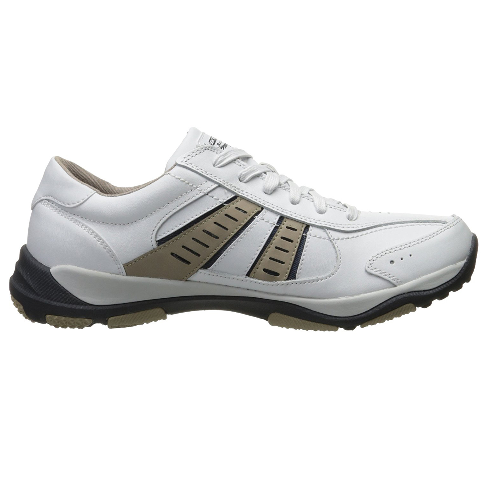 Skechers-Relaxed-Fit-Mens-Larson-Leather-Lace-Up-Memory-Foam-Trainers-Size-7-13 thumbnail 23