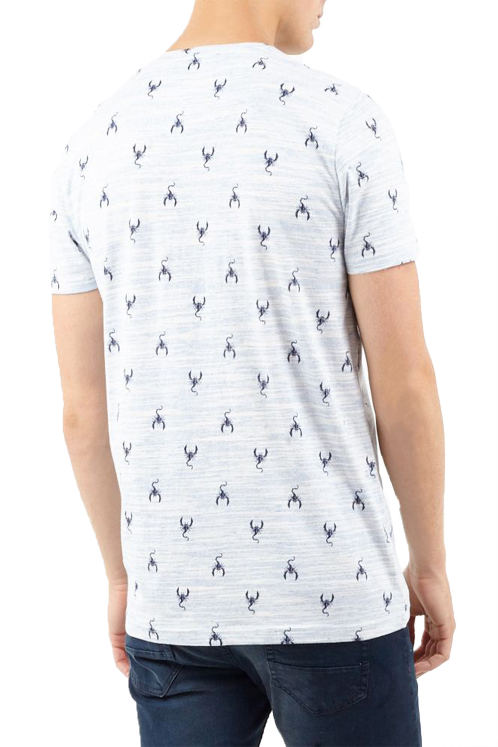 Brave-Soul-Mens-Designer-Scorpion-Soft-Casual-Summer-Premium-Patterned-T-Shirt thumbnail 5