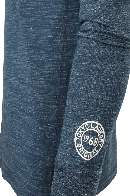 Tokyo-Laundry-Mens-Henley-Neck-Long-Sleeve-Top-Soft-Cotton-Casual-T-Shirt-Tee thumbnail 12